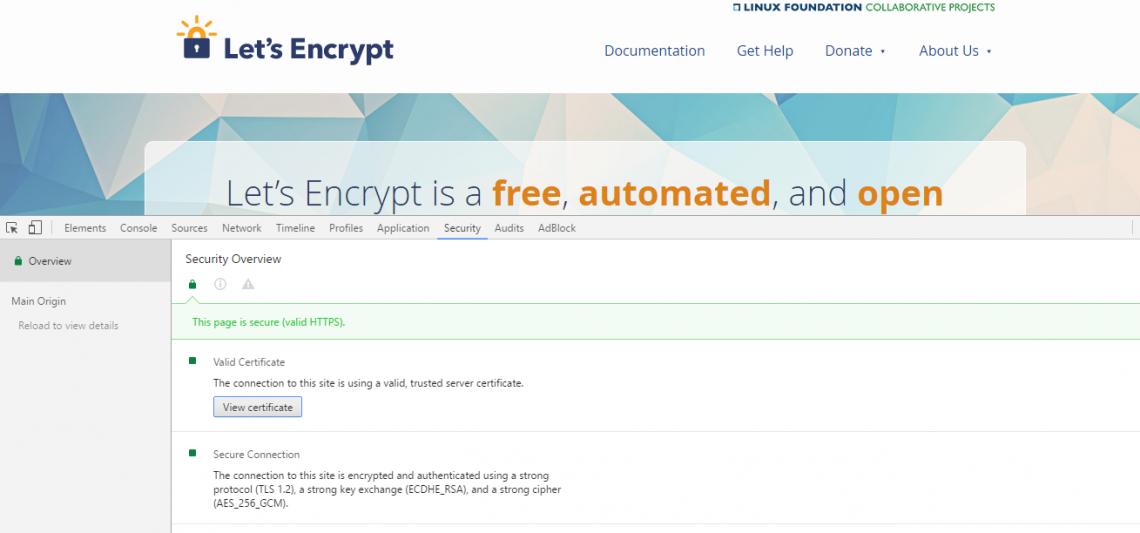 SSL Let's Encrypt El Desarrollador Web